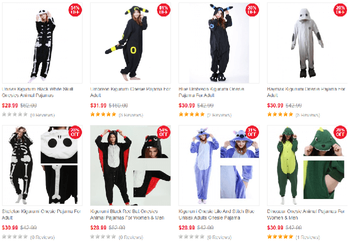 buy animal onesies pajamas